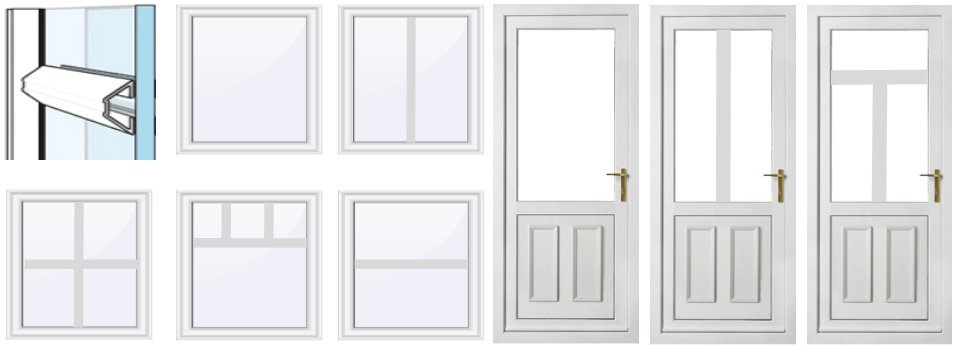 Change Style of uPVC Doors or Windows Southsea