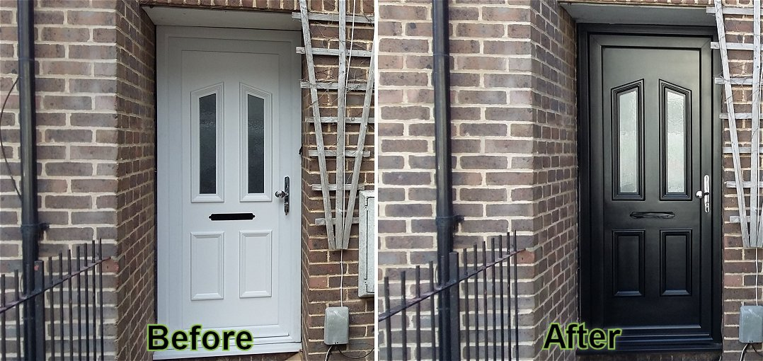 PVC Door Respraying
